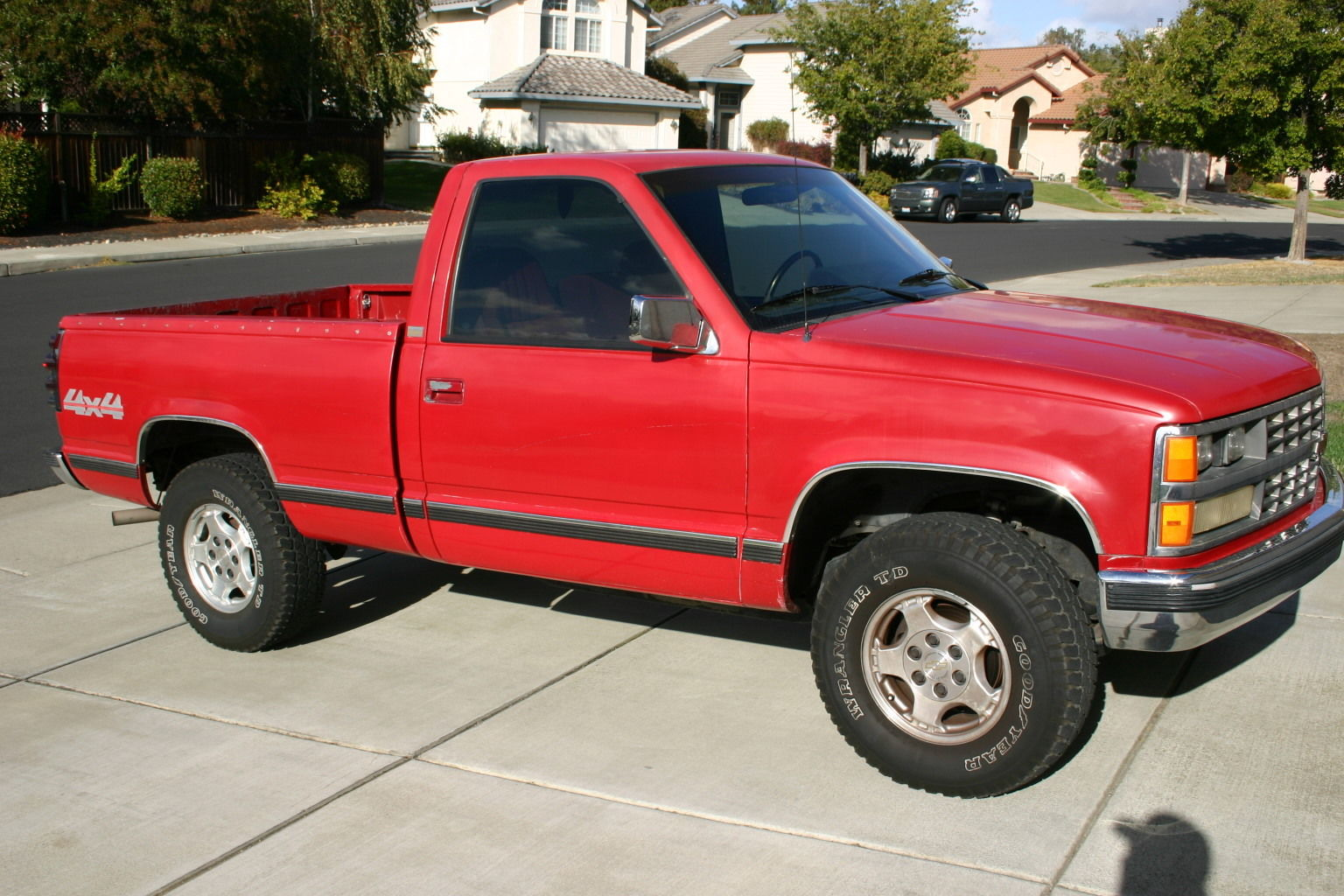 1989 chevy k1500 truck 4x4 silverado package classic chevrolet c k pickup 1500 1989 for sale. Black Bedroom Furniture Sets. Home Design Ideas