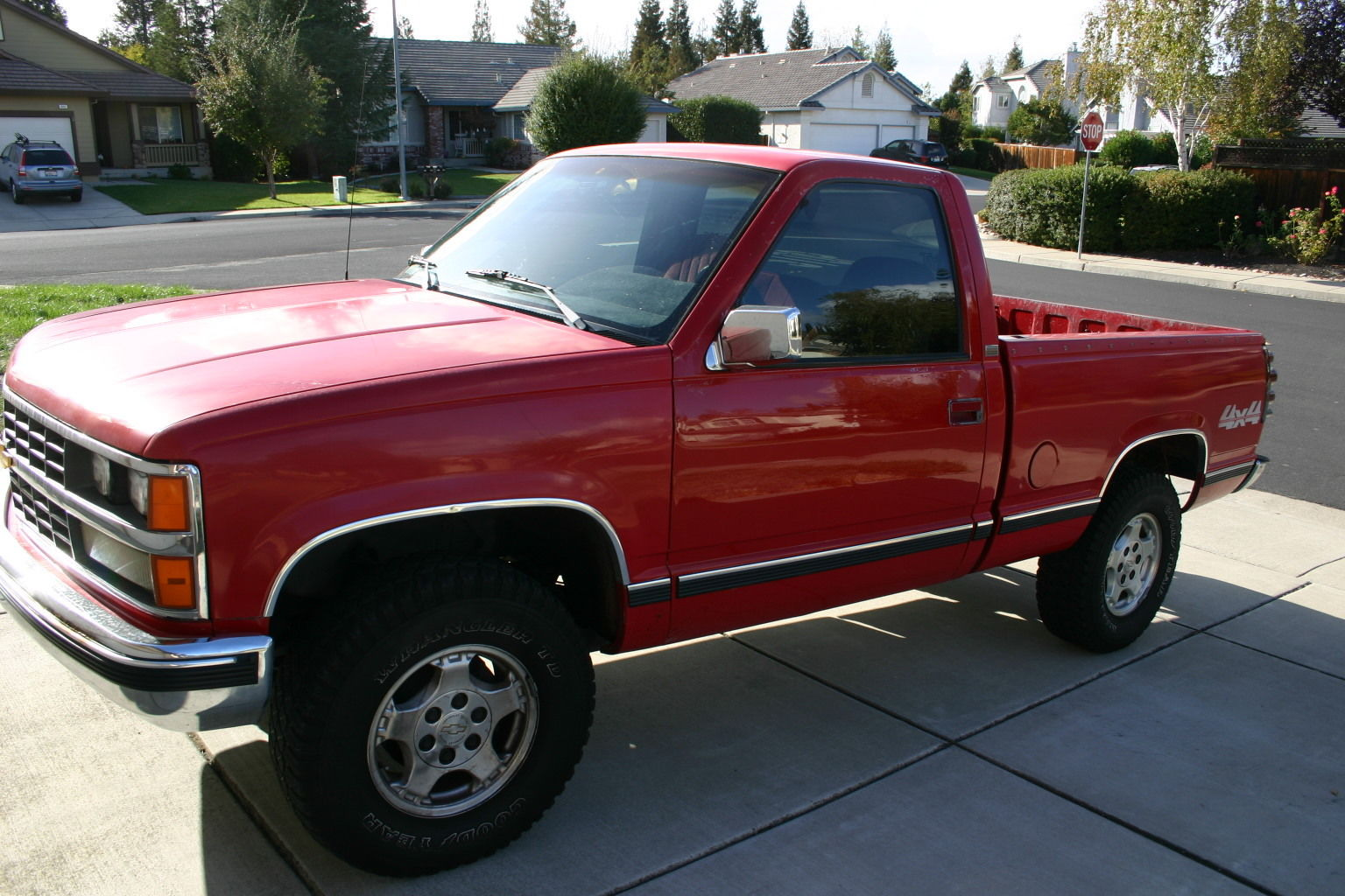1989 chevy k1500 truck 4x4 silverado package classic. Black Bedroom Furniture Sets. Home Design Ideas