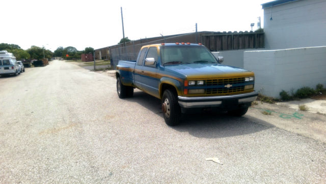 Chevy Fort Myers >> 1989 Chevy K3500 4X4 Dually SIlverado Extended Cab Low ...