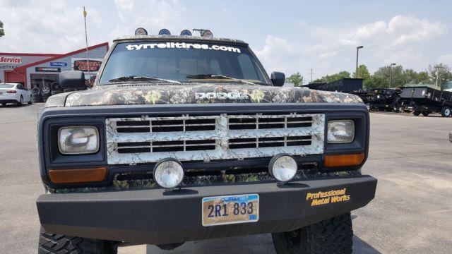 Custom Dodge Ram W X With Lift