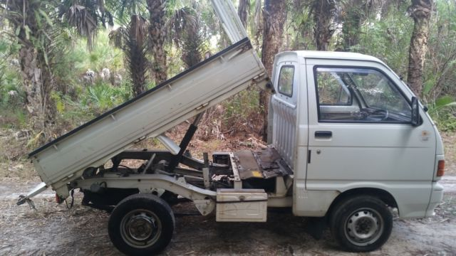1989 daihatsu hijet dump 4wd mini truck no reserve classic daihatsu other 1989 for sale. Black Bedroom Furniture Sets. Home Design Ideas