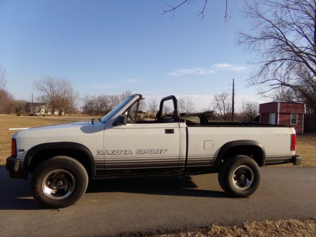 Dodge Dakota Convertible Sport X Pickup on Dakota Convertible 1989
