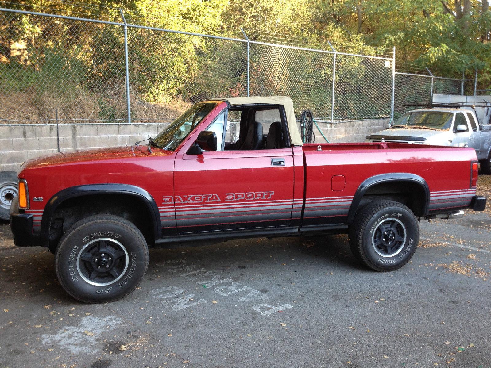 1989 Dodge Dakota Factory Convertible 4x4 Classic Dodge Dakota 1989 For Sale