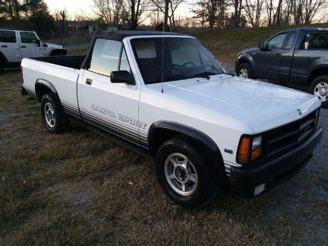 1989 Dodge Dakota Rare Factory Convertible Truck Santas Cool Sleigh Christmas