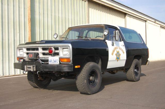 Cars For Sale In Fresno Ca >> 1989 Dodge Ramcharger 360 4X4 Rare Mopar California ...