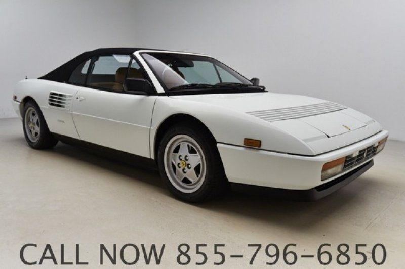 1989 ferrari mondial 37k low miles leather manual v8 one 1 owner clean carfax. Black Bedroom Furniture Sets. Home Design Ideas
