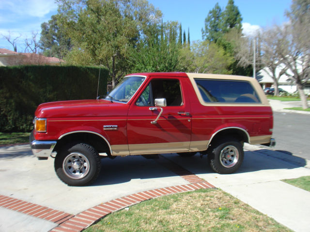 1989 ford bronco eddie bauer 1987 1988 1990 1991 1992 1993 1994 1995 1996 classic ford bronco. Black Bedroom Furniture Sets. Home Design Ideas
