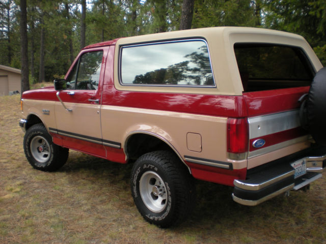 1989 ford bronco xlt 4x4 classic ford bronco 1989 for sale. Black Bedroom Furniture Sets. Home Design Ideas