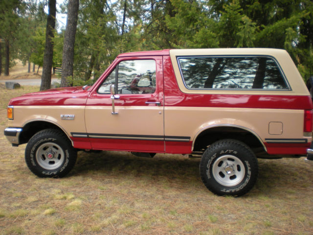 1989 Ford Bronco Xlt 4x4 Classic Ford Bronco 1989 For Sale