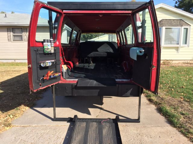 1989 Ford E 350 Econoline Club Wagon Xlt Extended