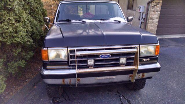 1989 ford f-150 4x4 regular cab short box