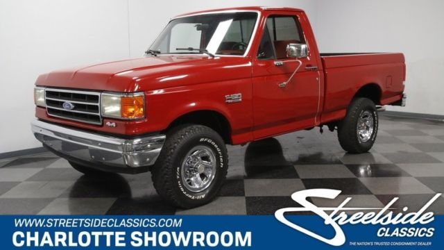 1989 ford f 150 xlt lariat 4x4 pickup truck 5 0 liter v8 5 speed manual classic classic ford f. Black Bedroom Furniture Sets. Home Design Ideas