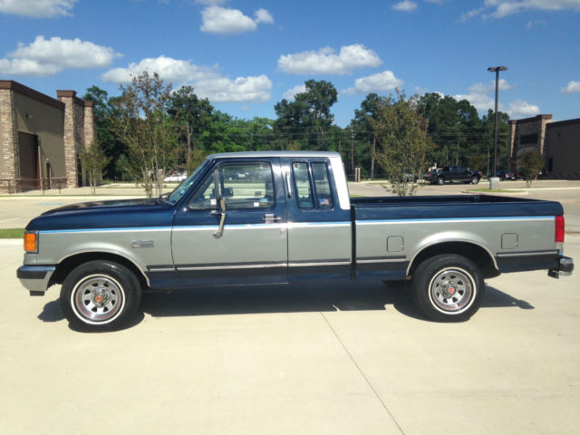 Ford F150 2 Door Extended Cab >> 1989 Ford F-150 XLT Lariat Extended Cab Pickup 2-Door 5.0L C-10 - Classic Ford F-150 1989 for sale