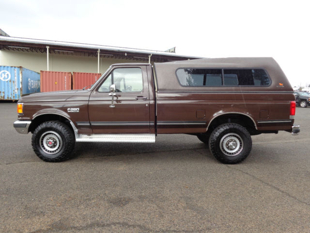 1989 Ford F250 4x4 Long Bed Low Miles Xlt 1988 1987 1990