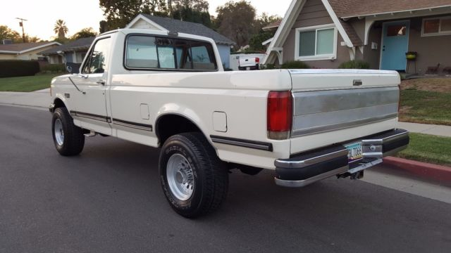 1989 ford f250 xlt lariat 4x4 automatic rust free 4wd f. Black Bedroom Furniture Sets. Home Design Ideas