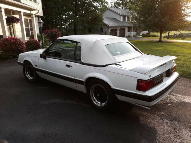 1989 ford mustang 5 0 lx convertible classic ford mustang 1989 for sale. Black Bedroom Furniture Sets. Home Design Ideas