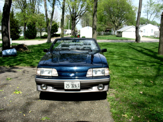 1989 FORD MUSTANG GT COBRA CONVERTIBLE MUST SEE NO RES ...