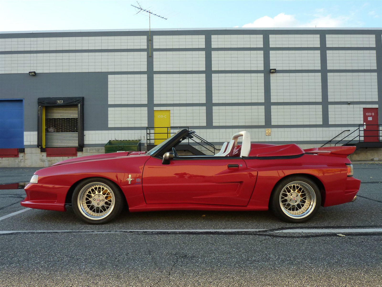 1989 Ford Mustang Gt Convertible Widebody Supercharged