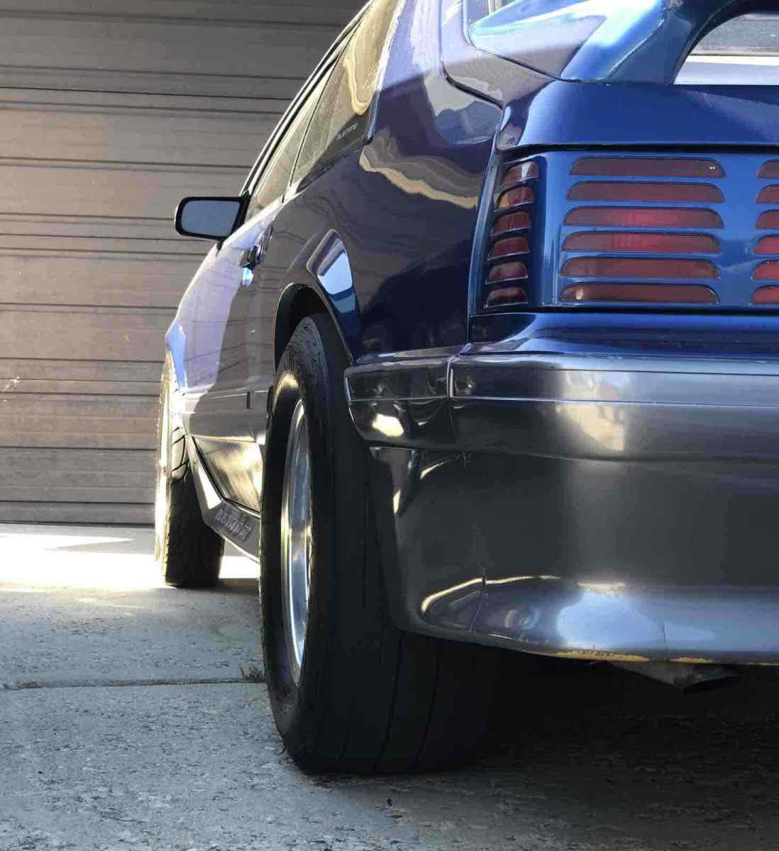 1989 Mustang Gt Blue And Silver