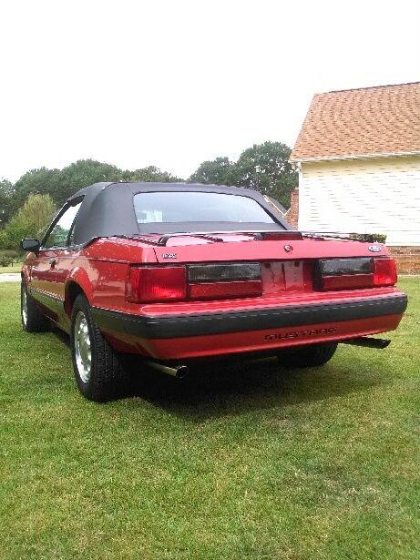 1989 Mustang Convertible Top