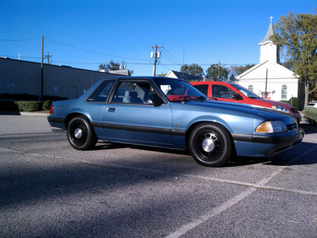1989 Ford Mustang Lx 5 0 Ssp Notchback Classic Ford