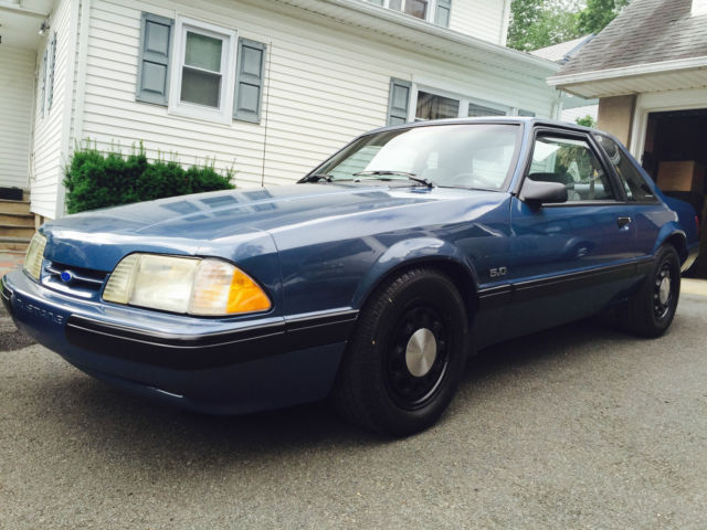 Mahwah Ford Service >> 1989 Ford Mustang LX 5.0 SSP Notchback - Classic Ford Mustang 1989 for sale