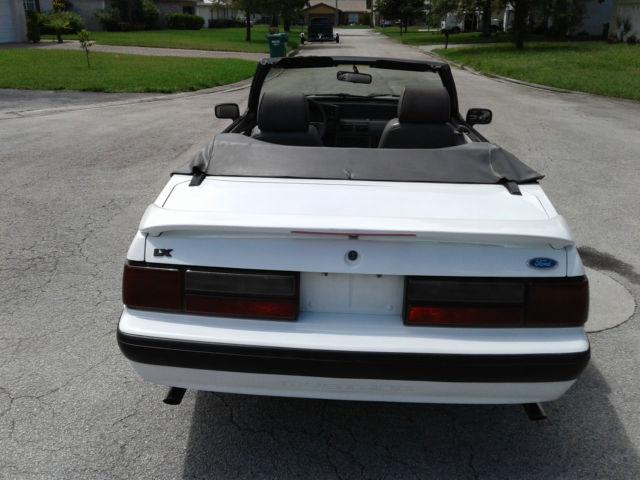 1989 Mustang Convertible Parts