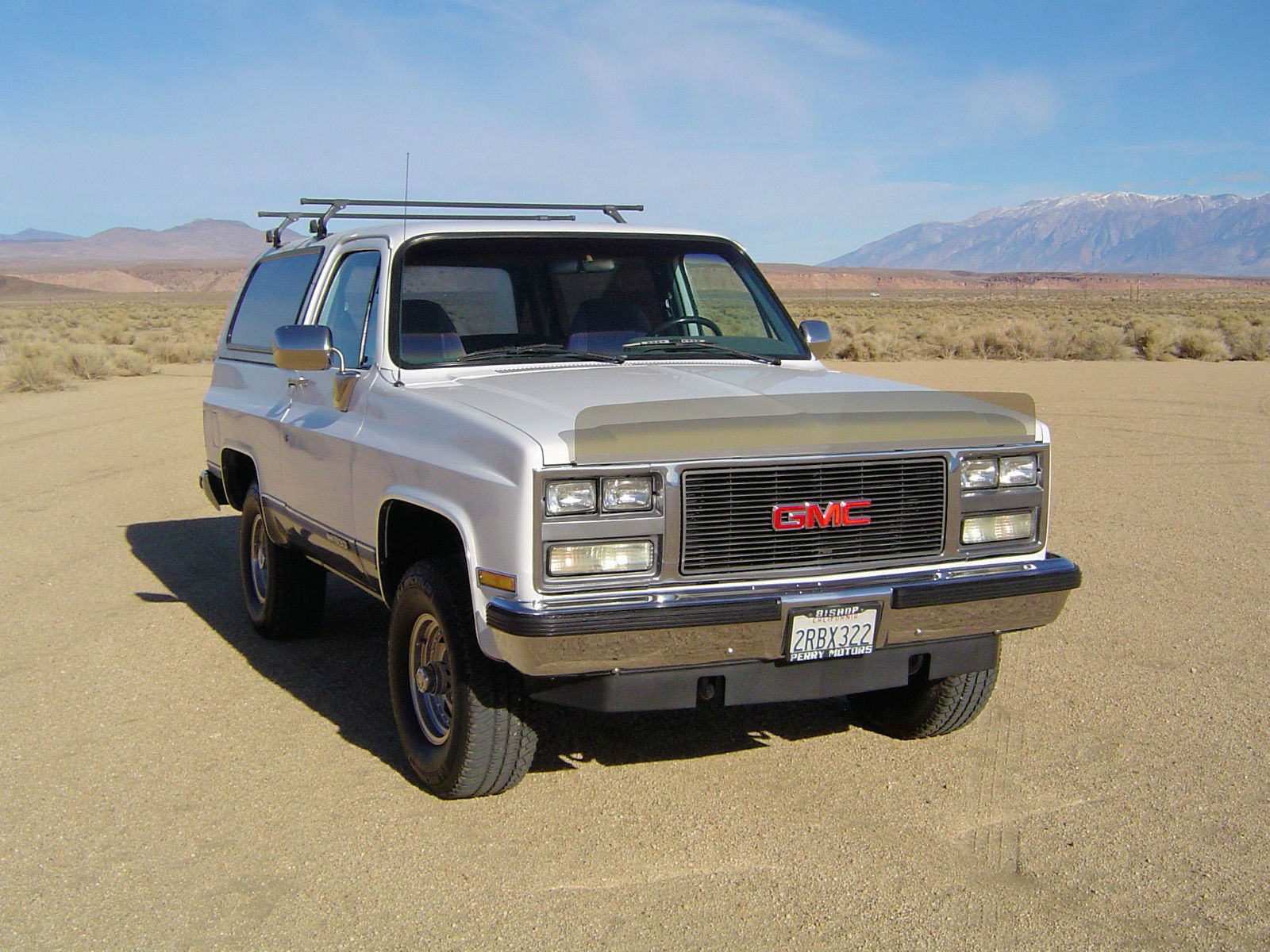 1989 Gmc Jimmy 4x4 California Truck Removable Top No Rust