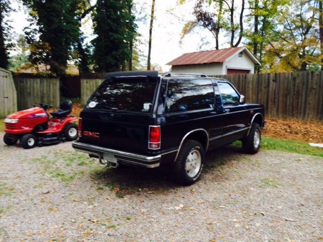 1989 GMC S15 Jimmy 4x4 2 Door SBC Ready Rust Free Project Vehicle