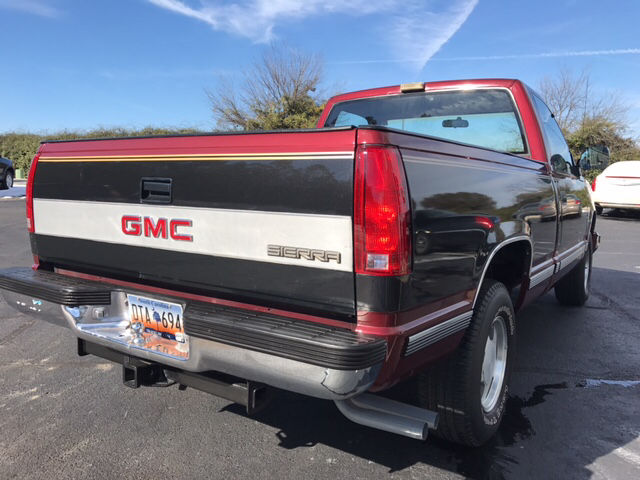 1989 gmc sierra 1500 sle sle automatic rwd v8 5 7l gasoline classic gmc sierra 1500 1989 for sale. Black Bedroom Furniture Sets. Home Design Ideas