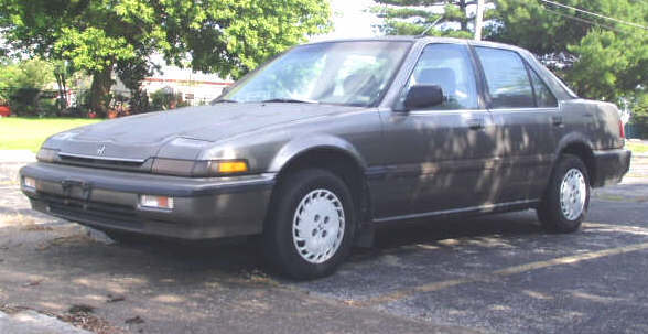1989 honda accord engine has 173021 miles does not run many parts replaced classic honda. Black Bedroom Furniture Sets. Home Design Ideas