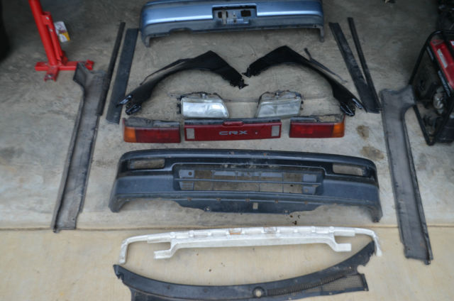 1989 Honda CRX W/ Tons of RARE OEM JDM parts NO RESERVE- STARTING