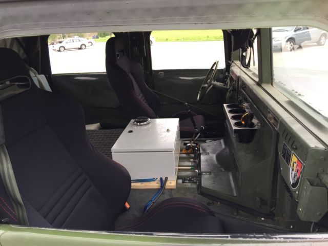 1989 Humvee M998 Hummer H1 Custom Stereo Rims Seats