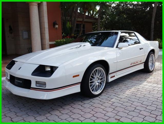 1989 IROC Z 5.7L V8 Automatic 1988 1987 Camaro T Tops ...