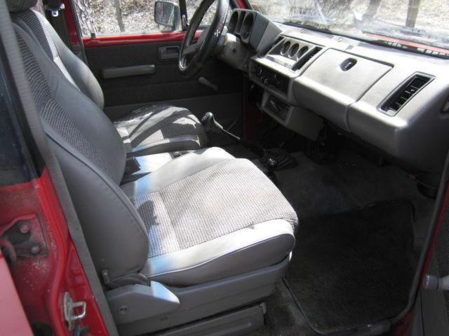 1989 Isuzu Trooper 4x4 4-door, 5-speed Parts Truck - Classic
