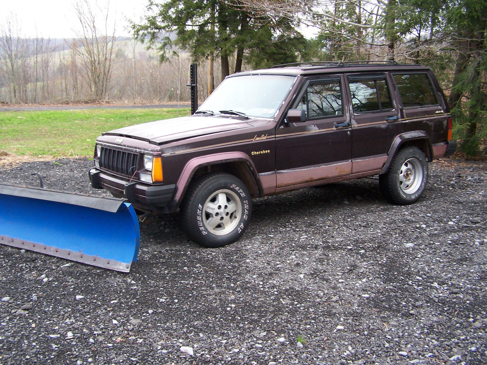 1989 Jeep Cherokee Limited With Snow Plow Classic Jeep