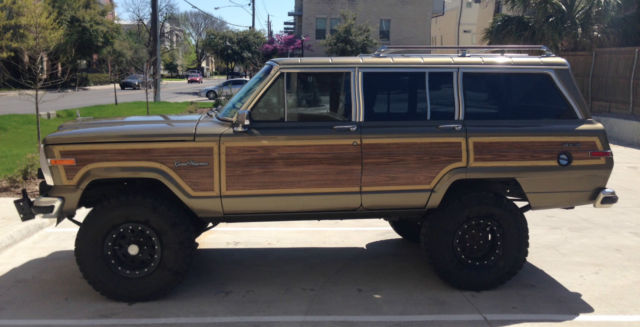 1989 Jeep Grand Wagoneer 4x4 6 Quot Lift And 35 Quot Tires In