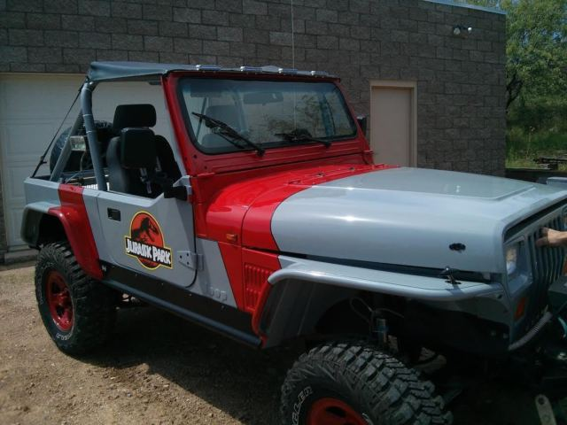 jeep wrangler jurassic park edition rock crawler yj classic jeep. Cars Review. Best American Auto & Cars Review