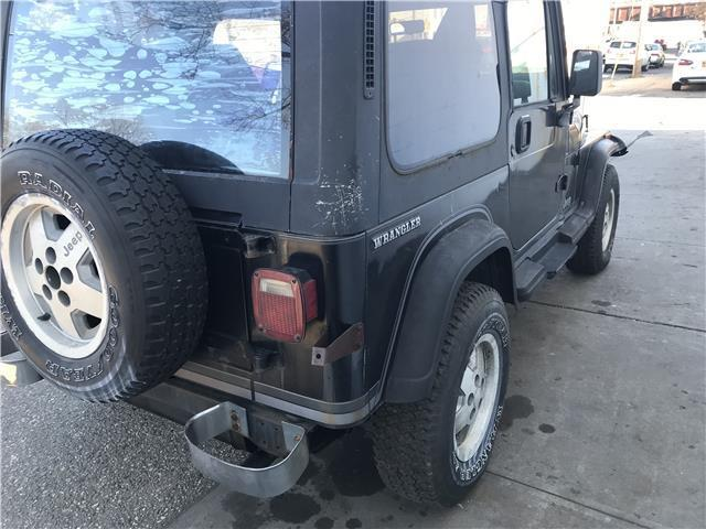 1989 jeep wrangler laredo 99 999 miles black suv straight 6 cylinder engine 4 2l classic jeep. Black Bedroom Furniture Sets. Home Design Ideas