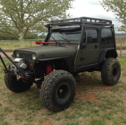 1989 Jeep Wrangler Yj 4x4 2 Door 4 0l Rock Crawler Quot No