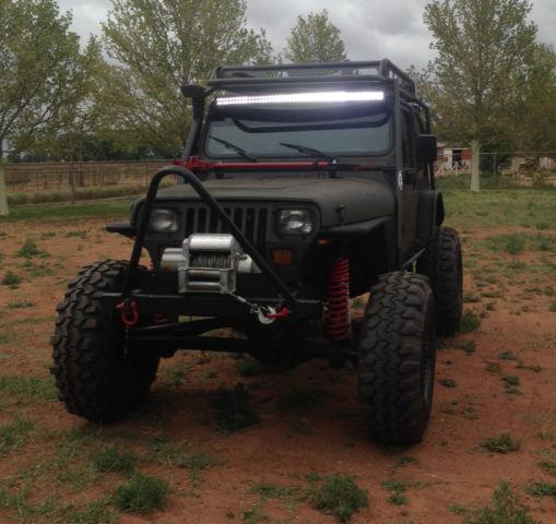 "1989 Jeep Wrangler YJ 4X4, 2-Door 4.0L Rock Crawler ""NO ..."