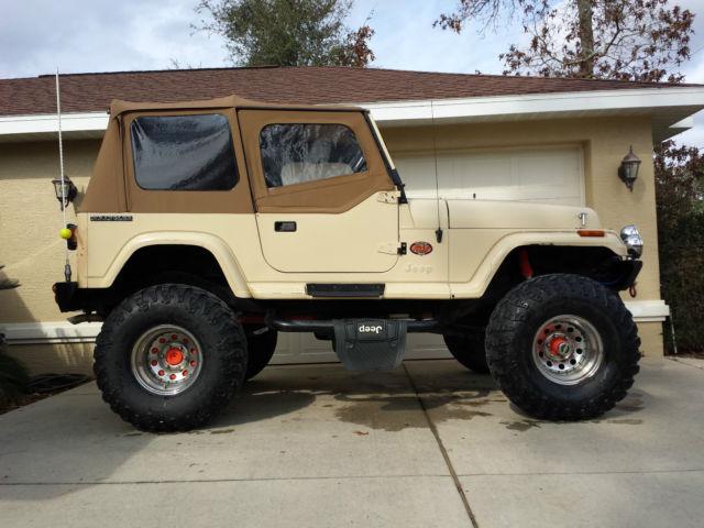 1989 Jeep Wrangler Yj Sehara Utility 2 Door Sbc 350 4x4