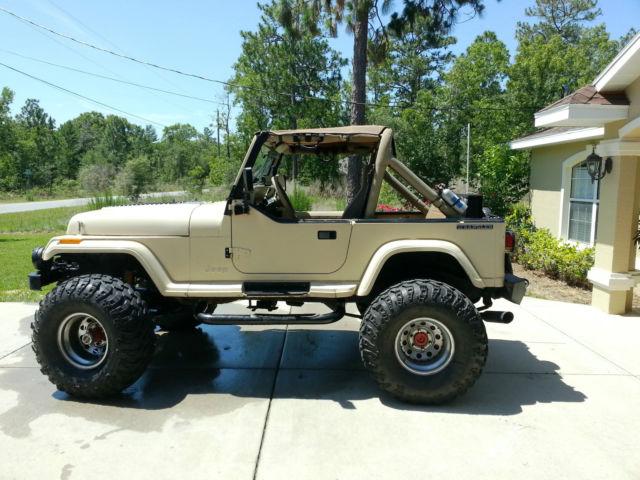 Jeep Wrangler Yj For Sale >> 1989 Jeep Wrangler YJ Sehara Utility 2-Door SBC 350 4X4 - Classic Jeep Wrangler 1989 for sale