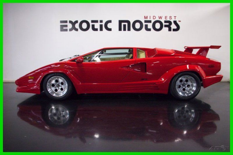 1989 Lamborghini Countach 25th Anniversary No Reserve 4 594