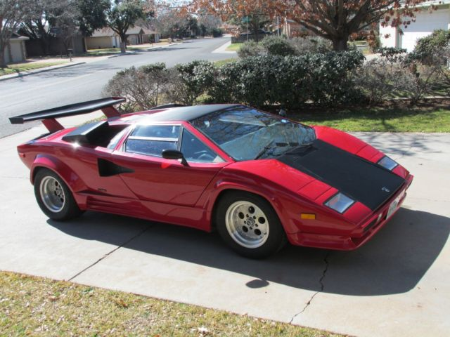 1989 lamborghini countach classic lamborghini countach 1989 for sale. Black Bedroom Furniture Sets. Home Design Ideas