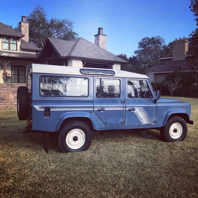 1989 Land Rover Defender 110 County Station Wagon 2.5L