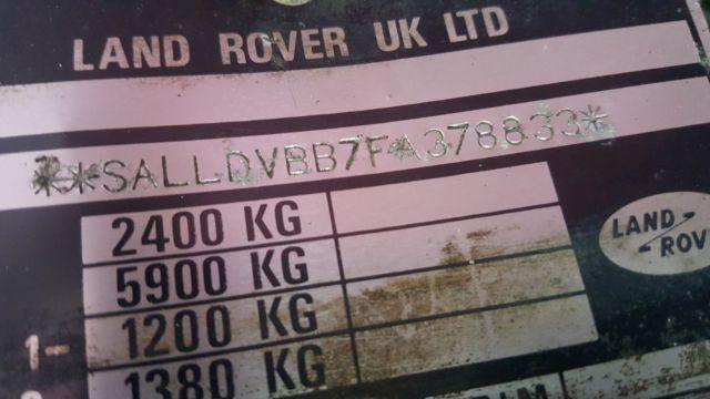 1989 Land Rover Defender 90 2 5 Turbo Diesel Rhd Clear