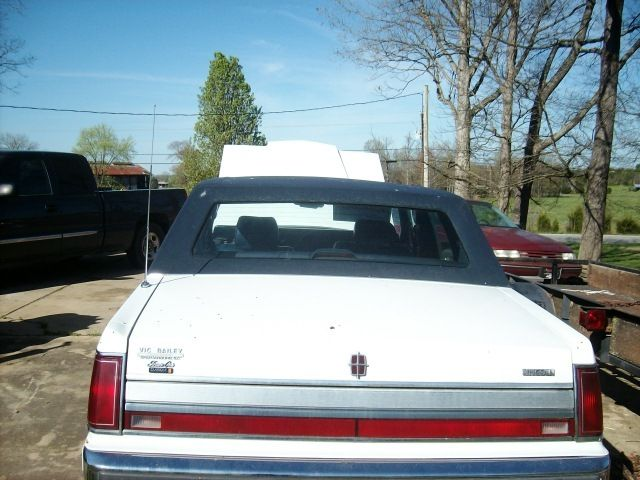 1989 Lincoln Town Car Signature Series Awesome Shape Needs Tlc