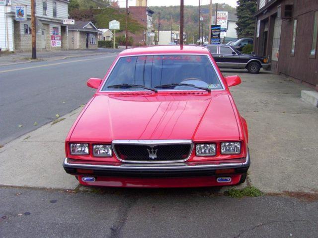 1989 Maserati Biturbo - Classic Maserati Biturbo 1989 for sale