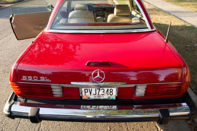 1989 mercedes 560sl hardtop convertible classic mercedes for Mercedes benz hardtop convertible